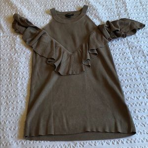 Tops - Express cold shoulder sweater blouse
